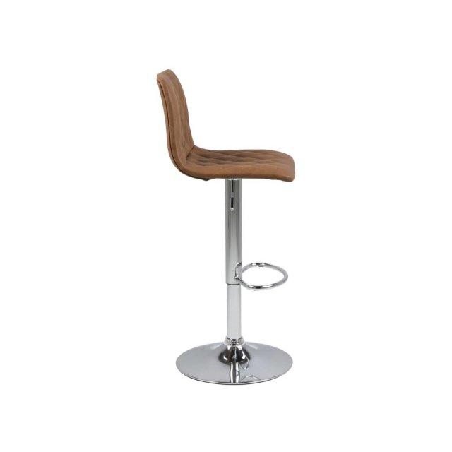 Barska stolica Emu Brown Leather