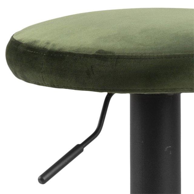 Barska stolica Finch Velvet Forest Green