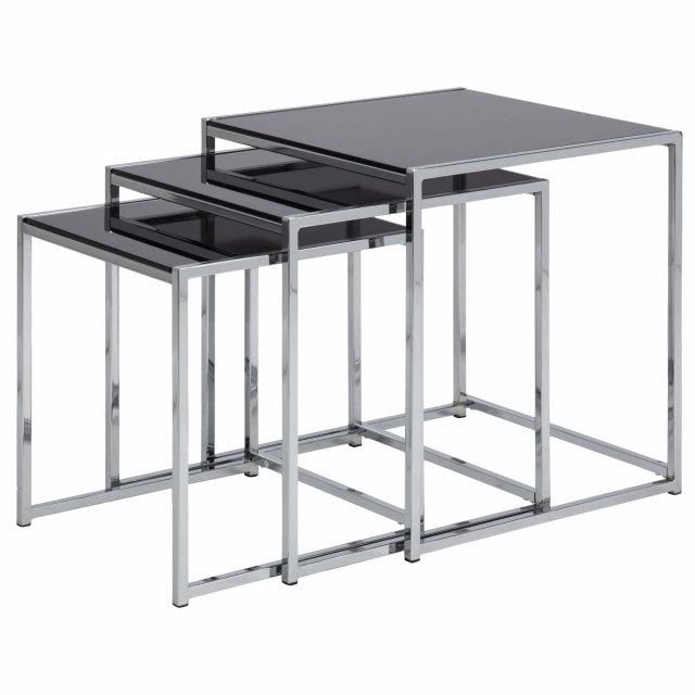 Pomoćni stolić Cross - set od 3 kom.