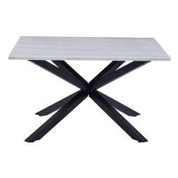 Stolić za kavu Heaven Square Marble White/Black