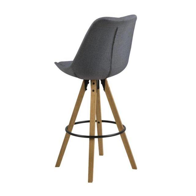 Barska stolica Dima Dark Grey