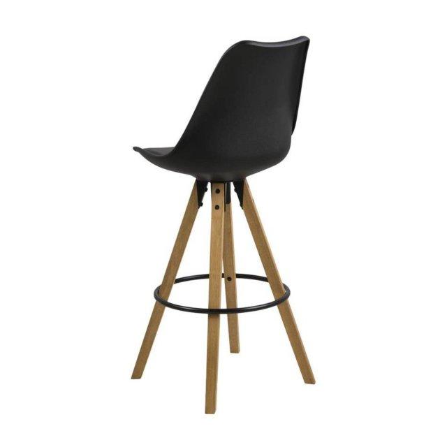 Barska stolica Dima Black/Natural