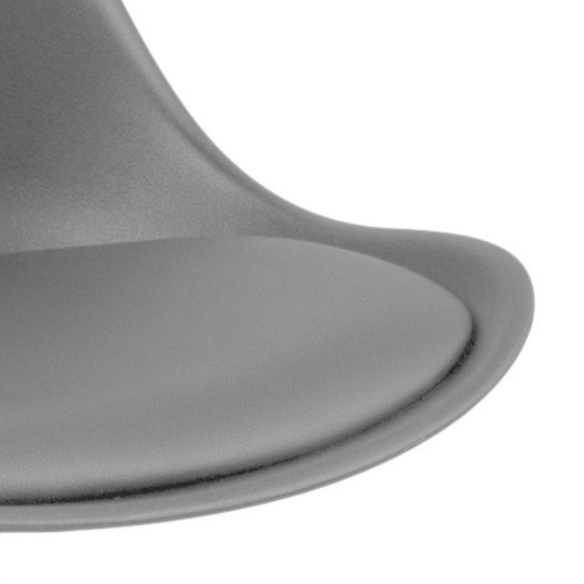 Barska stolica Dima Grey/Natural