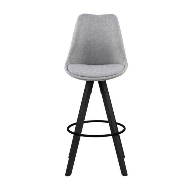 Barska stolica Dima Light Grey/Black
