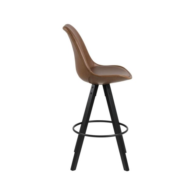 Barska stolica Dima Brown Leather