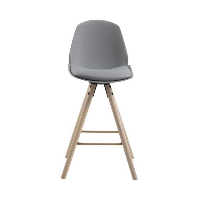 Polubarska stolica Oslo Grey