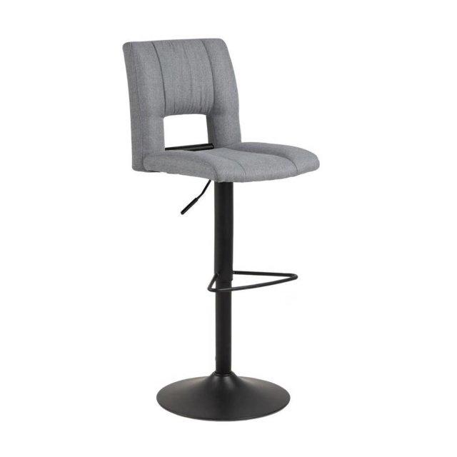 Barska stolica Sylvia Light Grey/Black