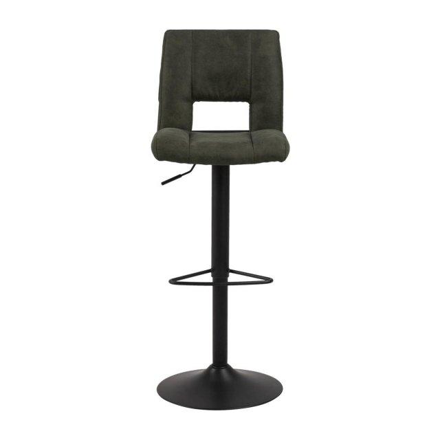 Barska stolica Sylvia Olive Green/Black