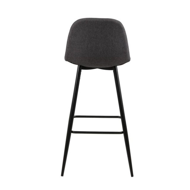 Barska stolica Wilma Dark Grey/Black