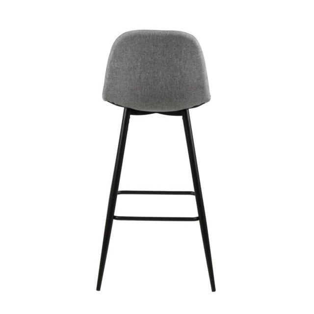 Barska stolica Wilma Grey/Black