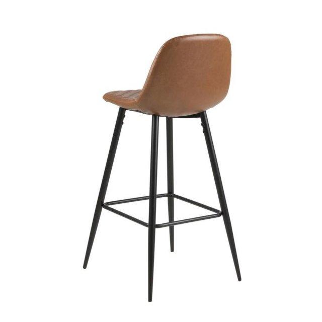 Barska stolica Wilma Leather Brown/Black
