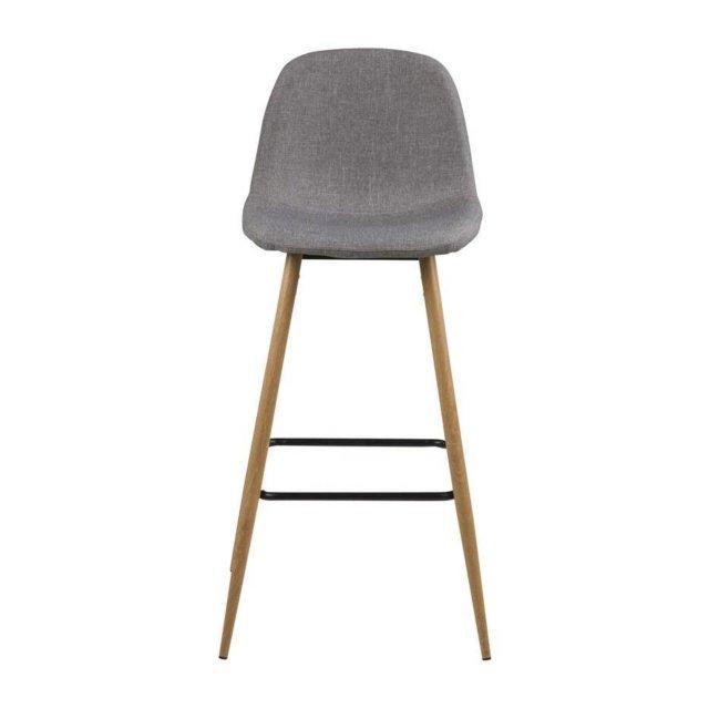 Barska stolica Wilma Light Grey