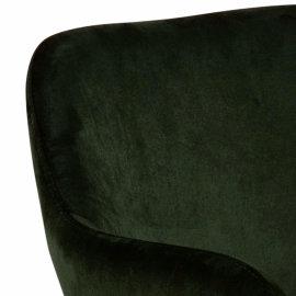 Stolica s rukonaslonom Lima Olive Green