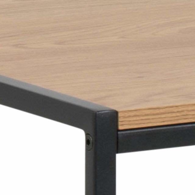 Radni stol Seaford Dark Natural