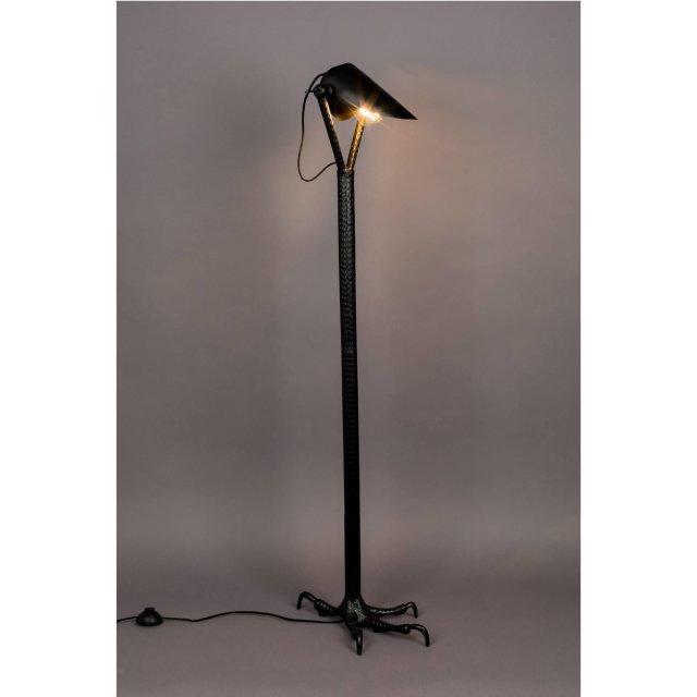 Podna lampa Falcon Black
