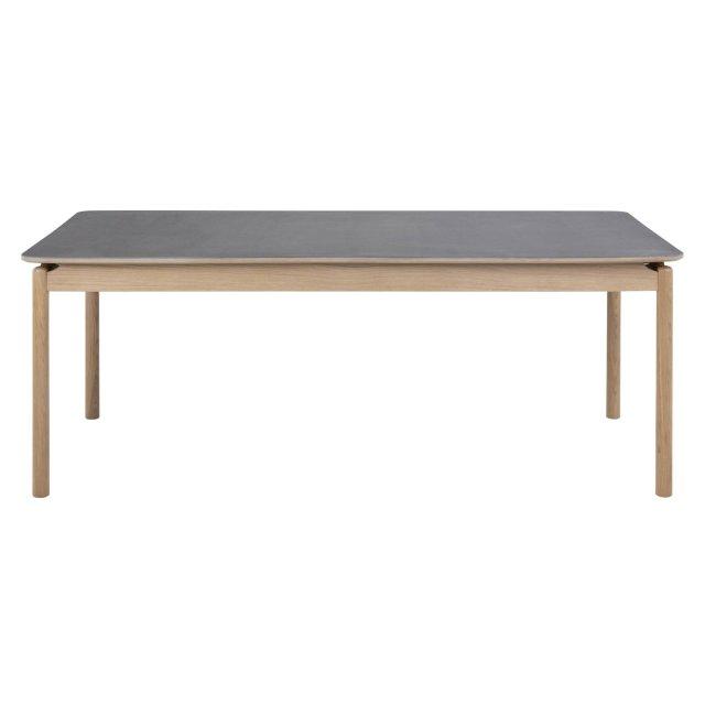 Produljivi stol Asbaek 200x95 cm