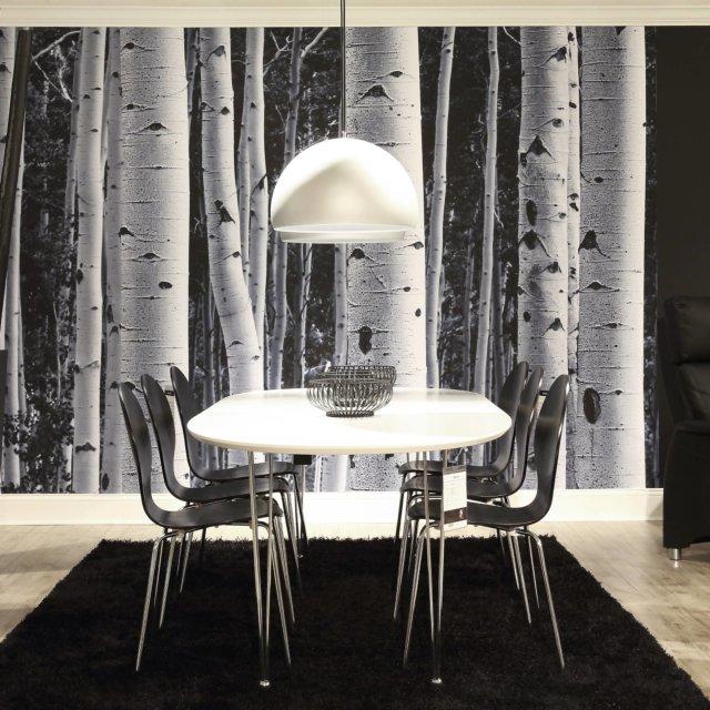 Produljivi stol Belina 170/270x100 cm White/Metal