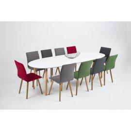 Produljivi stol Belina 170/270x100 cm White/Natural