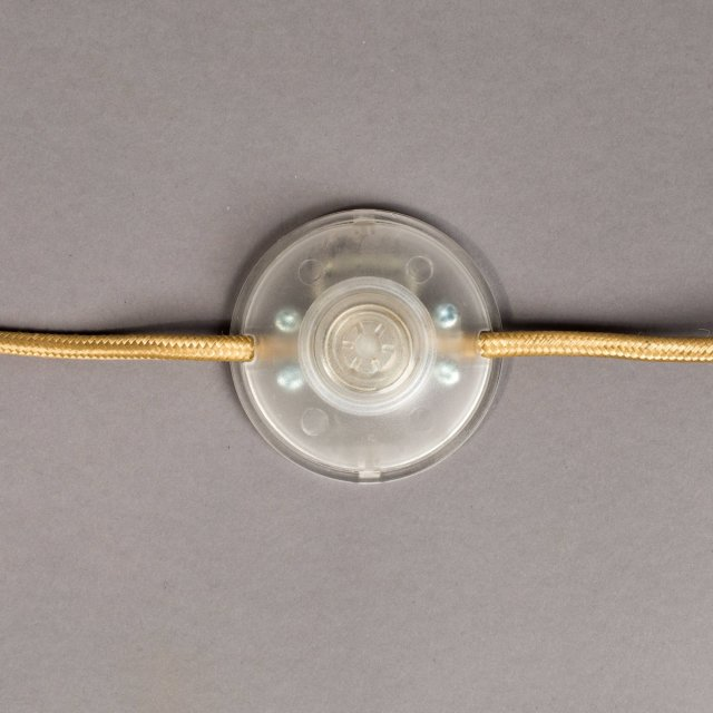 Podna lampa Falcon Brass
