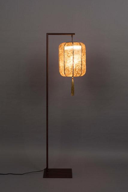 Podna lampa Suoni Gold