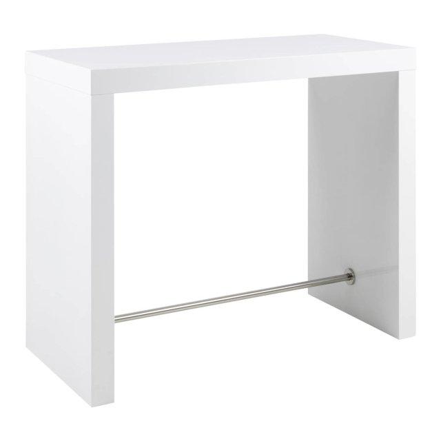 Barski stol Block White