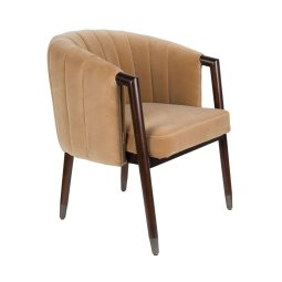 Stolica s rukonaslonom Tammy Caramel FR