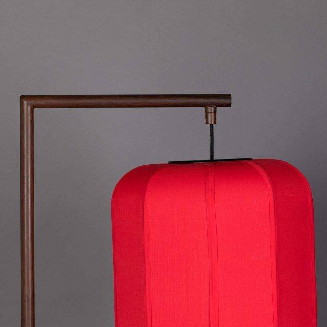 Podna lampa Suoni Red