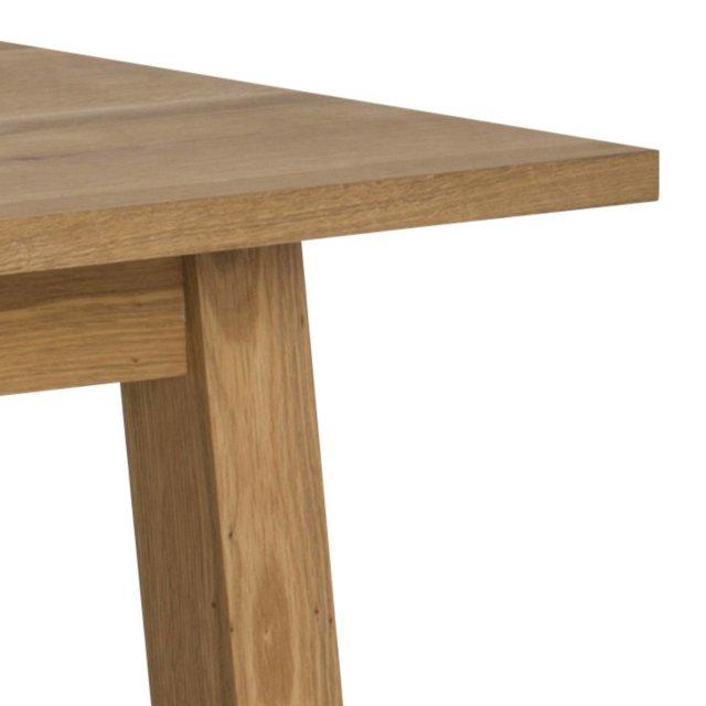 Produljivi stol Chara S 160x90 cm Natural