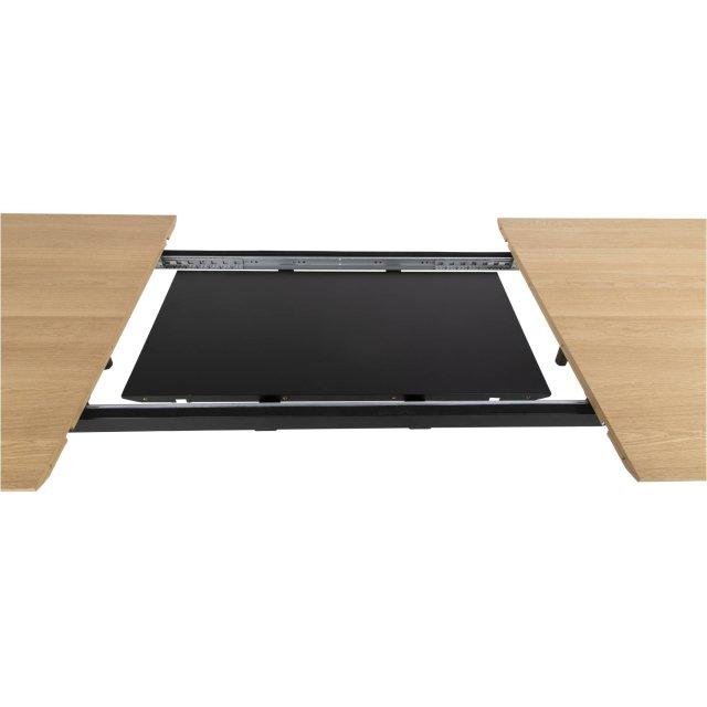 Produljivi stol Connect 200/250x100x75 cm Natural/Black
