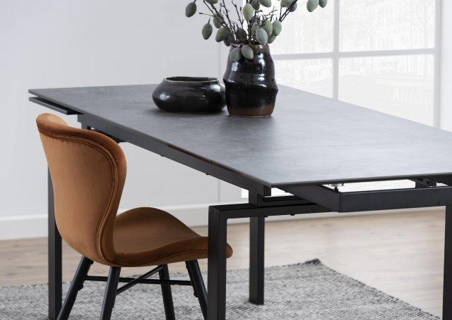 Produljivi stol Huddersfield L 160/240x85 cm All Black