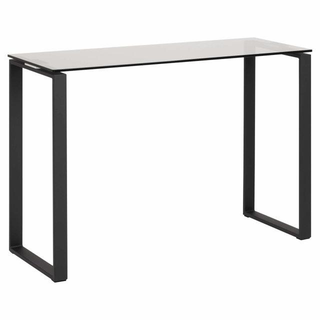 Konzolni stol Katrine Glass Grey/Black