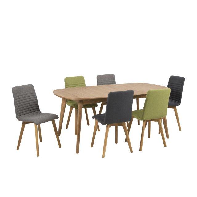 Produljivi stol Marte 180x102 cm Natural