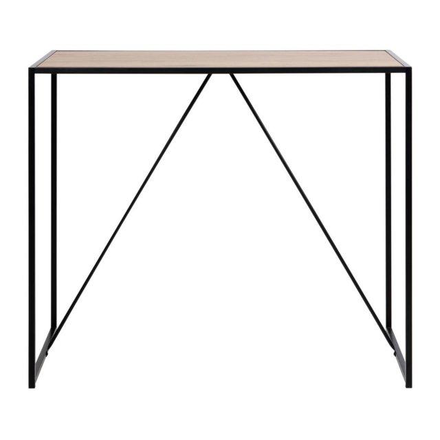 Barski stol Seaford Natural/Black