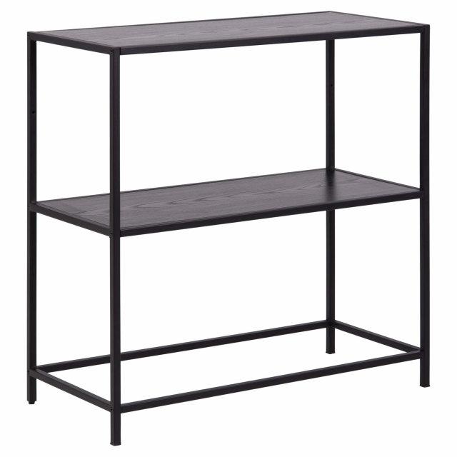 Konzolni stol Seaford Shelf S All Black