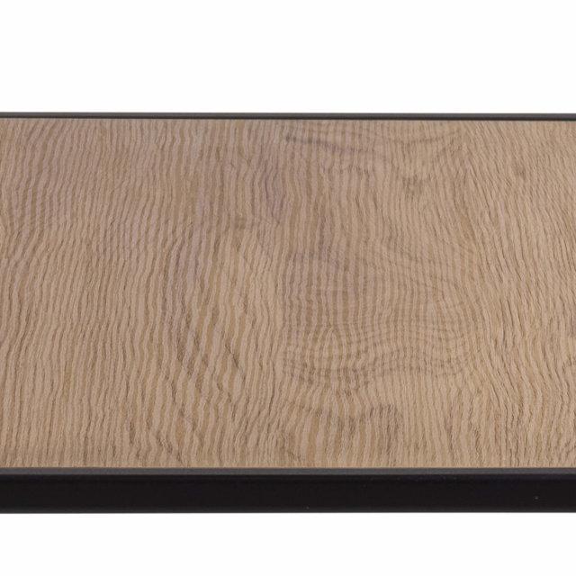 Konzolni stol Seaford Shelf S Natural/Black