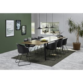 Umetak za produljivanje stola Connect Natural/Black - 1 kom.