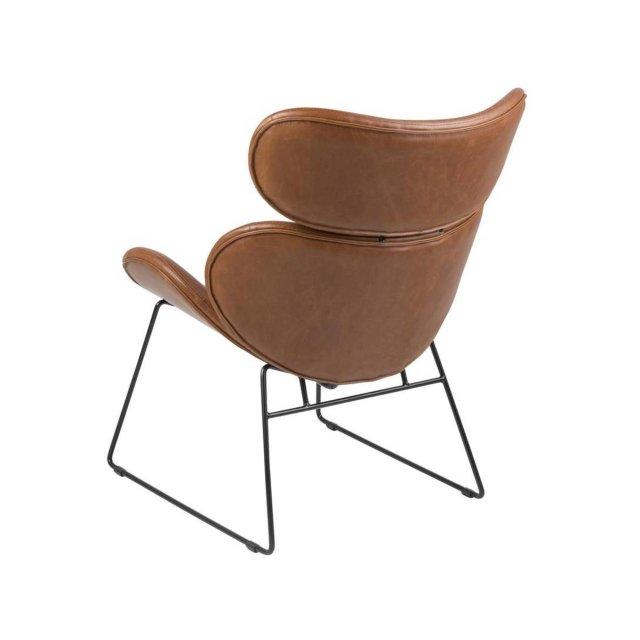 Fotelja Cazar Brown Leather