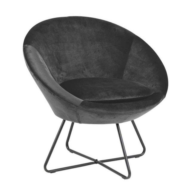 Fotelja Center Dark Grey