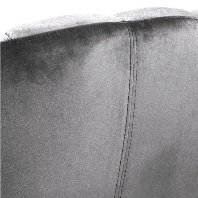 Fotelja Daniella Dark Grey Velvet