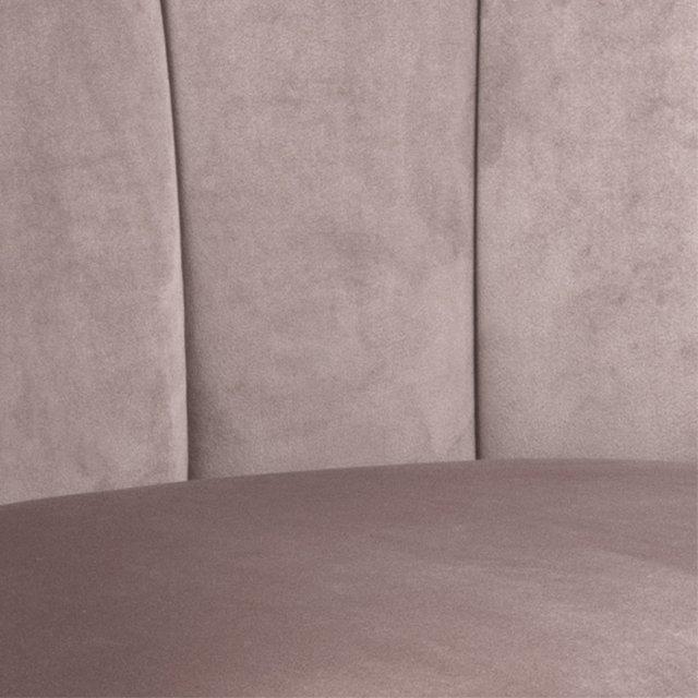Fotelja Daniella Dusty Rose Velvet