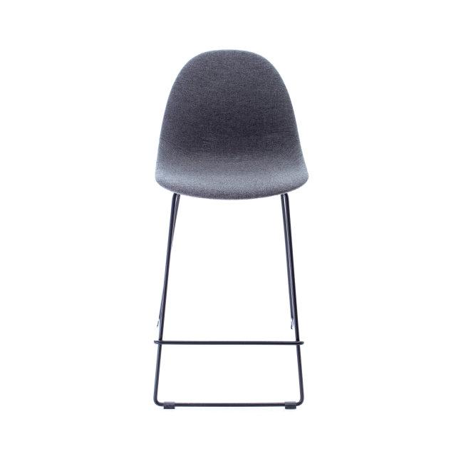Polubarska stolica Toscana Anthracite Grey