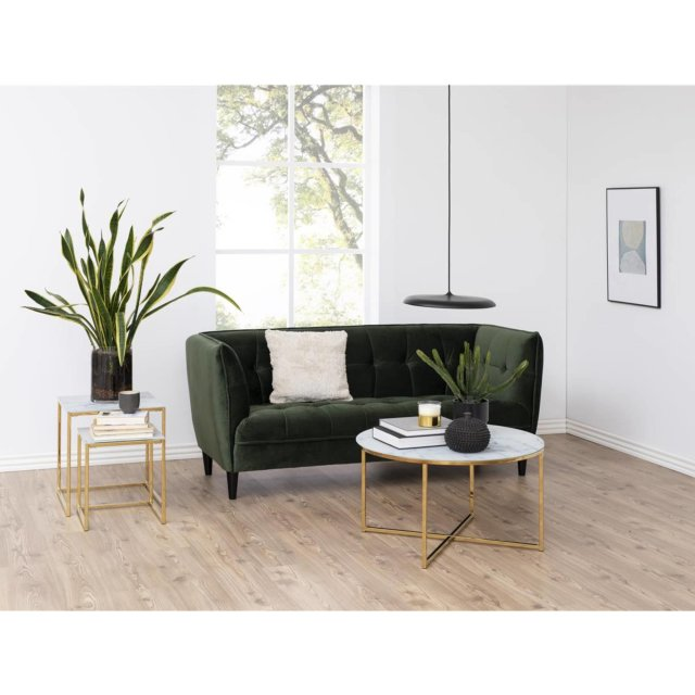 Sofa Jonna Velvet Forest Green