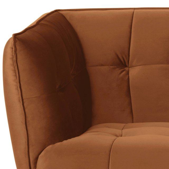 Sofa Jonna Velvet Copper