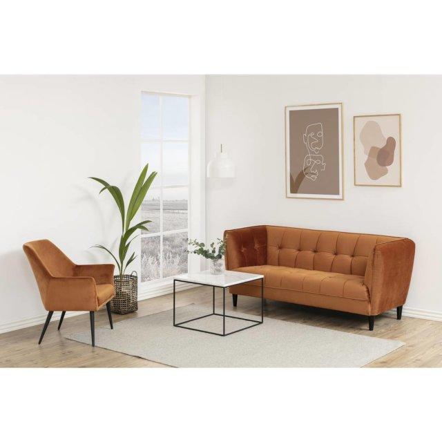 Sofa Jonna Velvet Copper