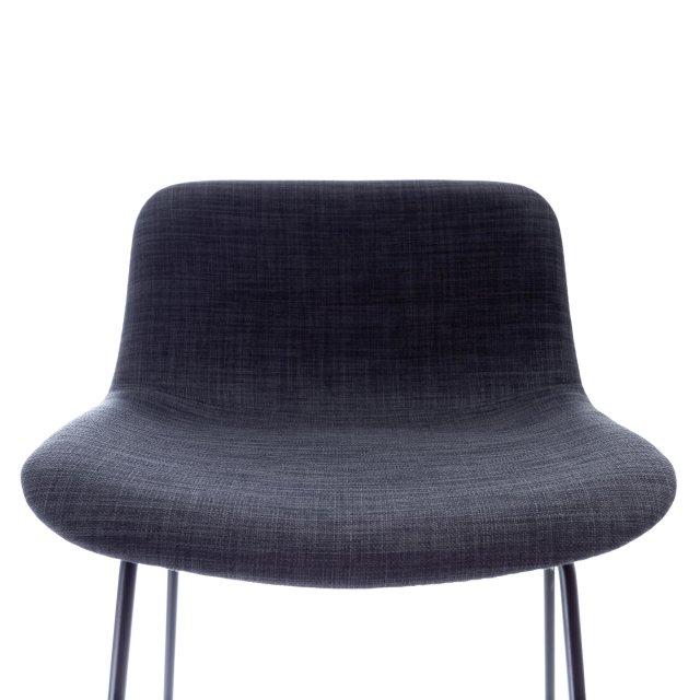 Polubarska stolica Pepper Black