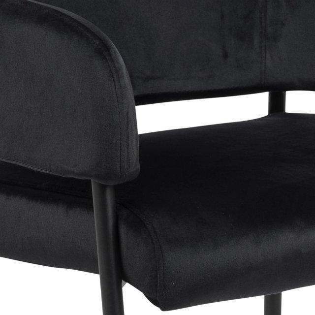 Fotelja Lima Black