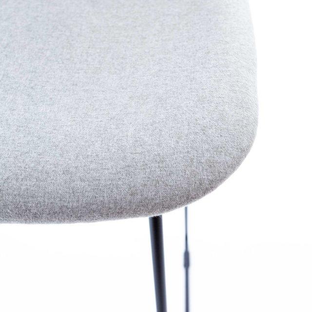 Polubarska stolica Pepper Light Grey