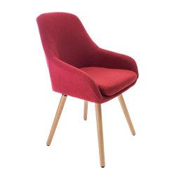 Stolica Gustav Dark Red