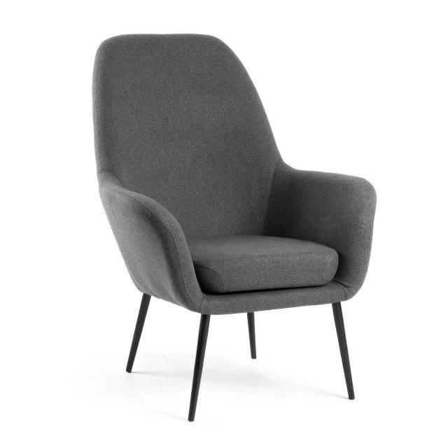Fotelja Alegria Dark Grey