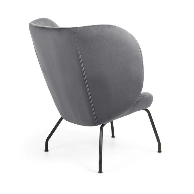 Fotelja Violet Dark Grey